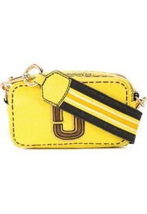 Marc Jacobs Bolsa Trompe L'Oeil Snapshot - Amarelo