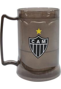 Caneca Gel Atlético Mineiro Libertadores Fumê Preta