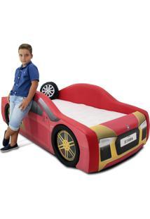Cama Carro Iron Vermelho
