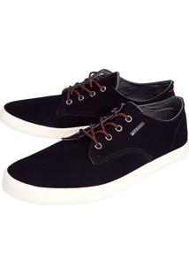 Tênis Coca Cola Shoes Camurça Preto