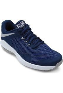 Tênis Nike Air Max Alpha Trainer Masculino - Masculino-Azul+Cinza