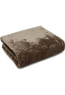 Cobertor Solteiro Kacyumara Blanket 600 Marrom