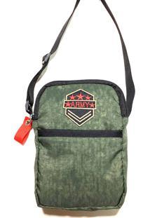 Bolsa Broers Borges Shoulder Bag Verde Militar