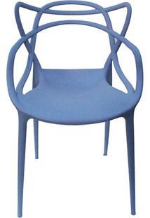 Cadeira Master Allegra Polipropileno Azul Caribe - 38025 Sun House