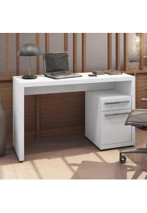 Mesa Para Computador Home Urban 1 Porta 1 Gaveta S970 Branco - Kappesberg