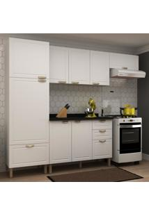 Cozinha Completa 5 Peças Americana Multimóveis 5690 Branco