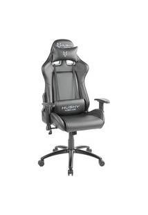Cadeira Gamer Husky Gaming Blizzard, Preto - Com Almofadas, Reclinável, Descanso De Braço 2D - Hbl-Bk