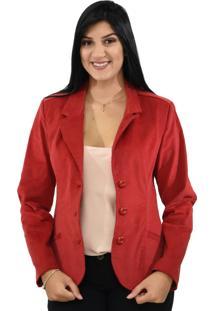 Blazer Energia Fashion Vermelho