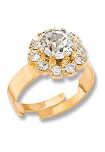 Anel Le Diamond Andrea Dourada