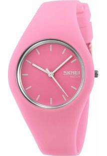 Relógio Skmei Analógico 9068 - Feminino-Rosa