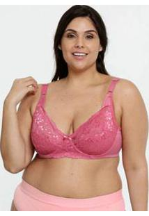 Sutiã Feminino Com Base Sem Bojo Renda Plus Size Triumph