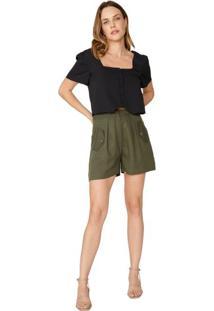 Shorts Wide Tencel