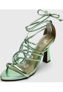 Sandália Dumond Amarração Verde