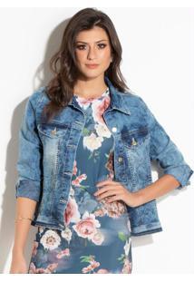 Jaqueta (Jeans Marmorizado)