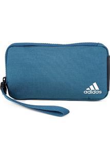 Pochete Adidas Street - Feminino-Azul Petróleo+Prata