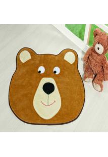 Tapete Dourados Enxovais Formato Urso Colmeia Caramelo