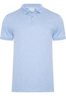 84a8ad8ed Camisa Pólo Calvin Klein Tom Claro masculina | Moda Sem Censura