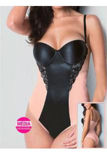 Body Modelador Com Renda Morisco (6528)