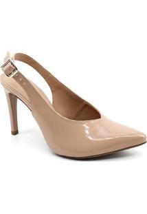 ffee385c4 ... Sapato Chanel Mixage Verniz - Feminino-Bege