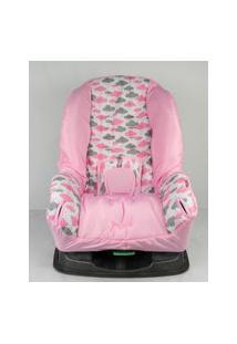 Capa Para Cadeira - Nuvem Rosa