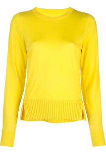 Proenza Schouler Blusa Gola Careca De Lã Merino - Amarelo
