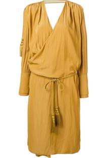 Lanvin Vestido Amplo - Amarelo