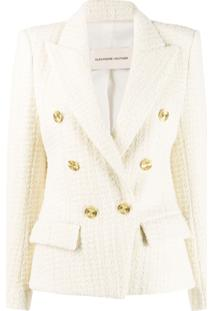 Alexandre Vauthier Fitted Tweed Jacket - Neutro