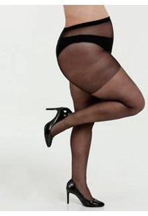 Meia Calça Feminina Clássica Fio 20 Plus Size Loba