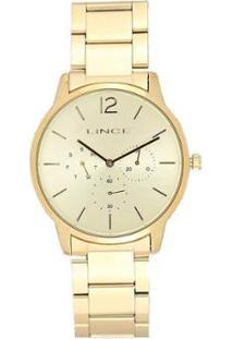 Relógio Lince Lmgj087Lc2Kx Feminino - Feminino-Dourado