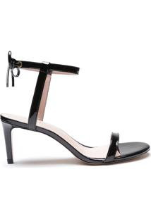 Sandália Special Italian Mid Heel Black   Schutz