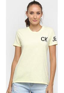 Camiseta Calvin Klein Ckj Feminina - Feminino