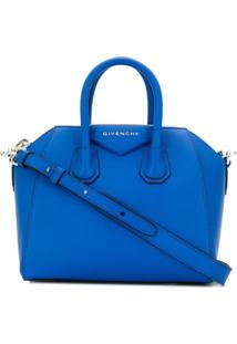 Givenchy Bolsa Tote Antigona Mini - Azul