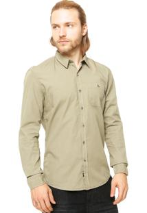 Camisa Manga Longa Ellus 2Nd Floor New York Verde