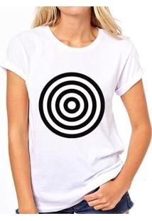Camiseta Alvo - Feminino-Branco