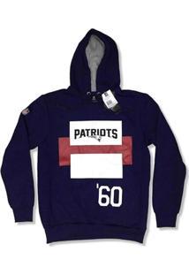 Casaco Moletom New England Patriots Retangulos - New Era - Masculino