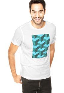 Camiseta Vr Estampa Branca