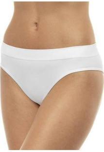 Calcinha Lupo Sem Costura Básica - Feminino-Branco