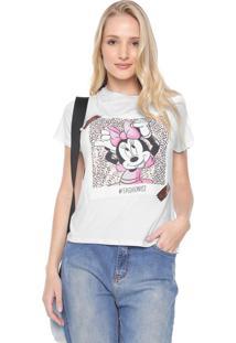 Blusa Cativa Disney Minnie Fashionist Branca
