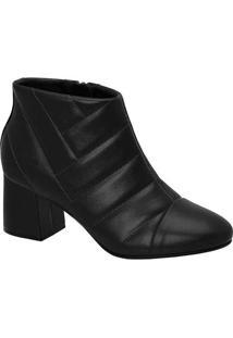 Ankle Boots Feminina Conforto Modare Matelassê Pre