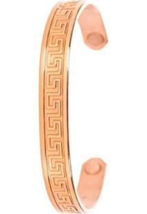Pulseira Sabona Aztec Copper Magnetic - Masculino-Dourado
