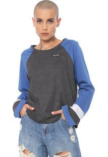 Camiseta Volcom Streakin Stone Azul/Grafite - Kanui