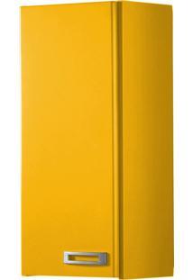 Armário Aéreo 1 Porta Kenzo 160 Amarelo - Maxima