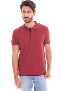Camiseta Polo Convicto Detalhes Bordo