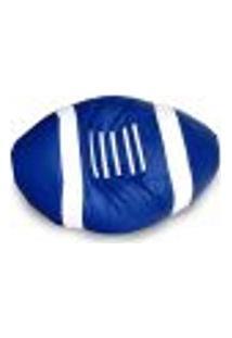 Puff American Ball Em Corino Azul Royal
