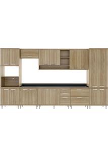 Cozinha Compacta Bragado 17 Pt 5 Gv Argila