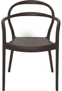 Cadeira Sissi Polipropileno Com Braço 92045109 Tramontina