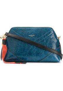 Givenchy Bolsa Transversal Com Etiqueta - Azul