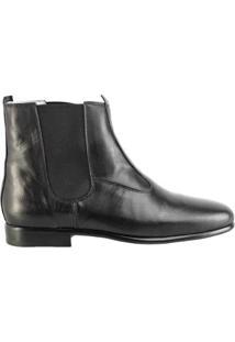 Bota Hb Agabe Boots Social Masculina - Masculino-Preto