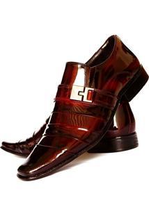 Sapato Social Gofer Vinho