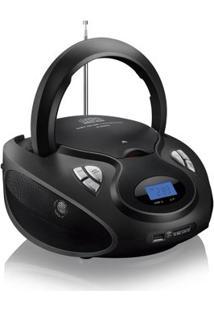 Rádio Portátil 20W Boombox Cd/Usb/Sd/Fm/Aux Sp179 - Multilaser - Unissex